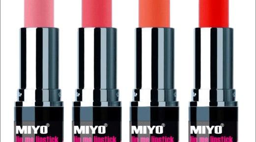 MIYO Lip Me Lipsticks