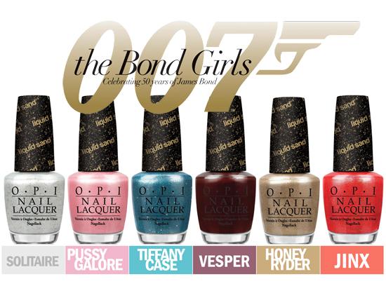 O.P.I The Bond Girls
