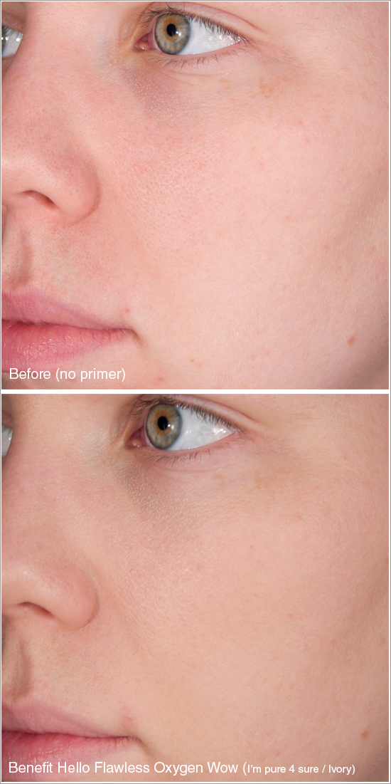 Benefit Hello Flawless Oxygen Wow Foundation Recension