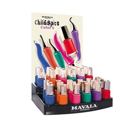 Mavala Chili & Spice 2013 Colour Collection
