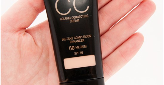 Max Factor CC Cream (Colour Correcting Cream)
