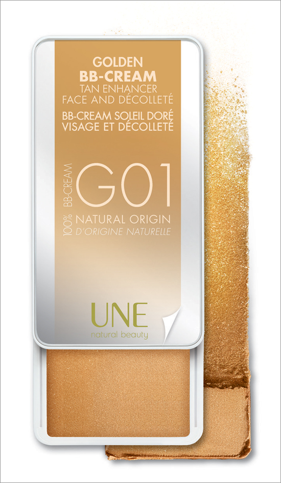 UNE Golden BB-Cream Tan Enhancer