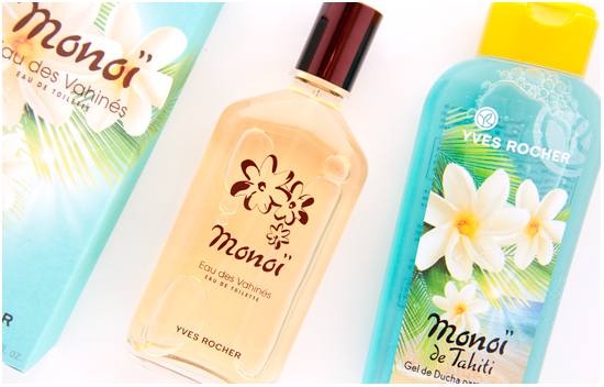 Yves Rocher Lagoon Hair & Body Wash & Monoï de Tahiti