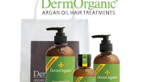 DermOrganic Argan Oil Hair Treatments