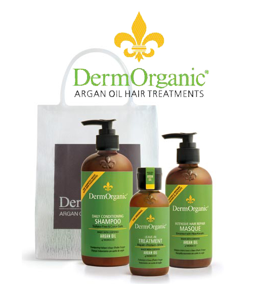 DermOrganic Argan Oil Hair Treatments