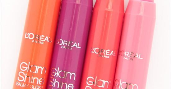 L'Oréal Glam Shine Balmy Gloss
