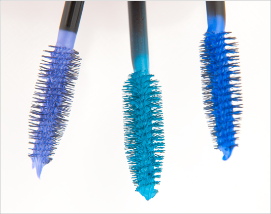 Maybelline Electric Purple / Electric Teal / Electric Navy Color Shock The Colossal Volume' Express Mascaras