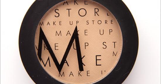Make Up Store Desert Microshadow Recension, Swatches, Bilder