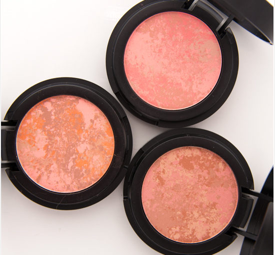Make Up Store Breccia, Pernice, Zarci Marble Blushes Swatches, Recension, Bilder