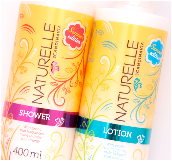 Naturelle Summer Edition 2013 Lotion & Shower Gel