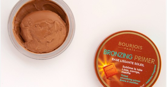 Bourjois Bronzing Primer Recension, Swatches, Bilder