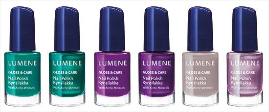 Lumene Gloss & Care Nail Polish with Arctic Minerals