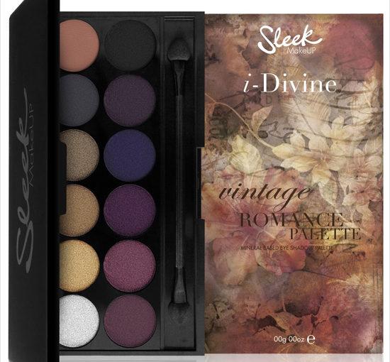 Sleek Makeup Vintage Romance 2013 Fall Collection