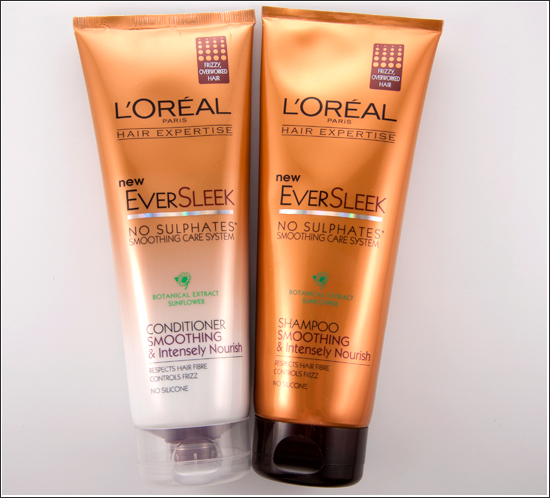 loreal ever sleek shampoo conditioner
