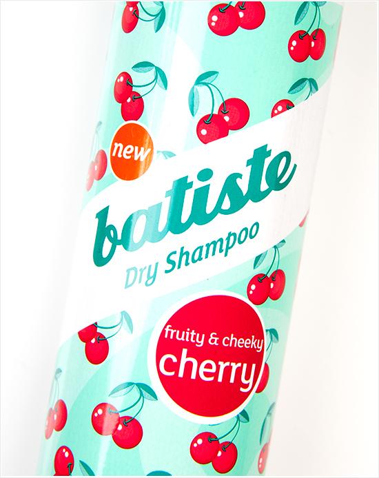 Batiste Dry Shampoo Cherry001