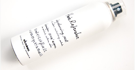 Davines Hair Refresher Dry Cleansing Mist Recension