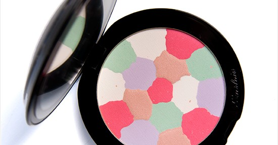 Guerlain Crazy Météorites Radiance Powder Recension, Swatches, Bilder