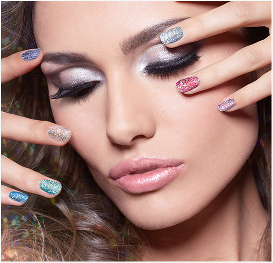 IsaDora Holographic Nails