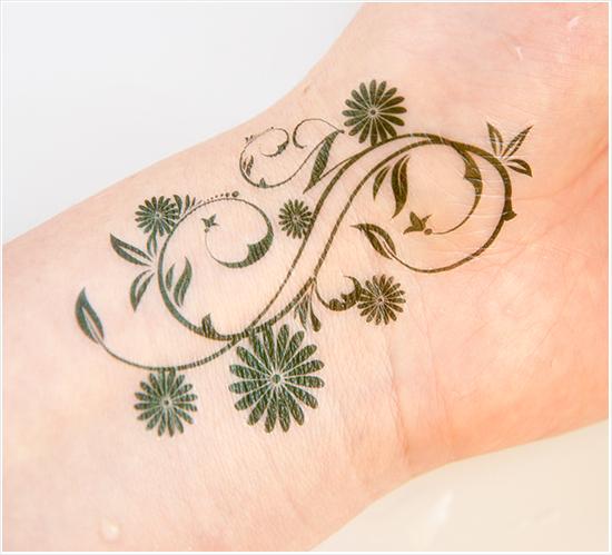 Make Up Store Nail Deco Head & Temporary Body Tattoo