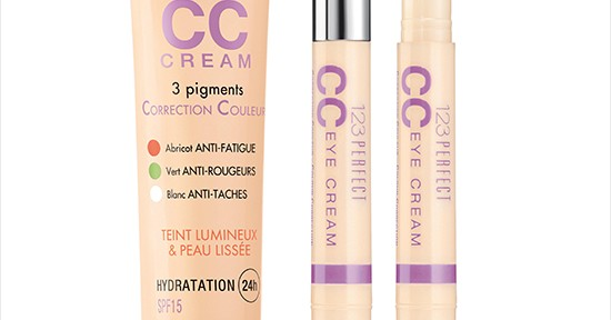 Bourjois 123 Perfect CC Cream & Eye Cream