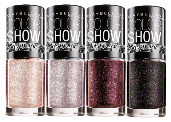 Maybelline Color Show Crystallize Collection