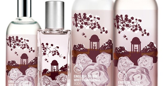 The Body Shop Special Edition English Dawn White Gardenia