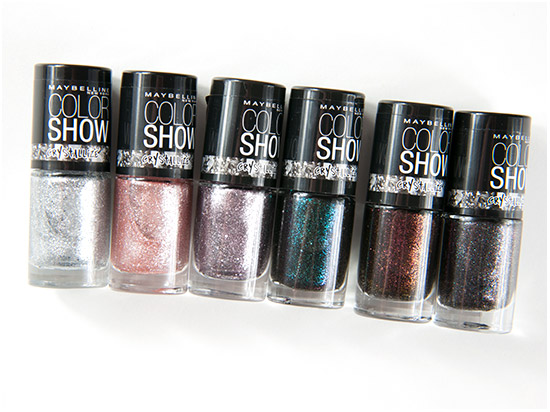 Maybelline Color Show Crystallize Swatches