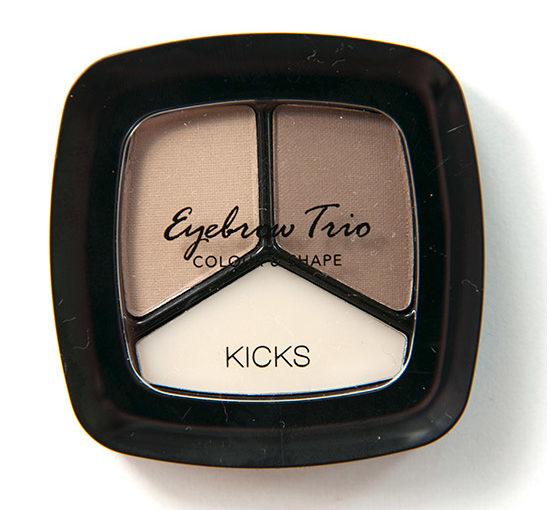 KICKS Eye Brow Trio Blonde Swatches, Bilder