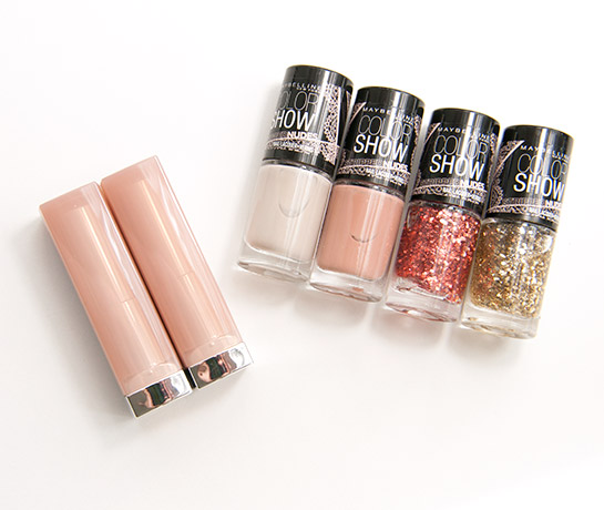 Maybelline The Stripped Nudes Swatches & Bilder