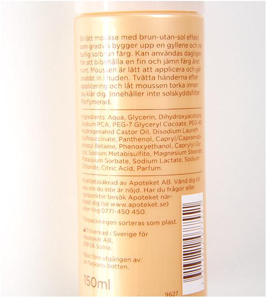 Apoliva-Brun-utan-sol-mousse-ingredienser