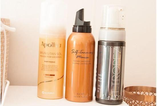 Apoliva, KICKS & St Tropez Brun Utan Sol Produkter