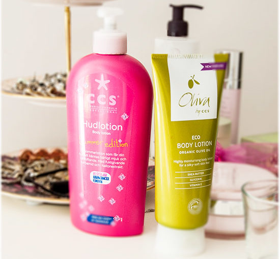 CCS Summer Edition Hudlotion & Oliva by CCS Eco Body Lotion