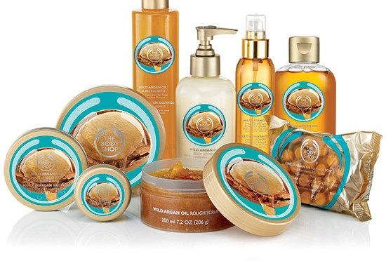 The Body Shop Wild Argan Oil Bath & Body
