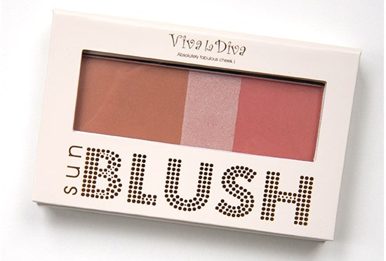 Viva la Diva Sun Blush Recension, Swatches, Bilder