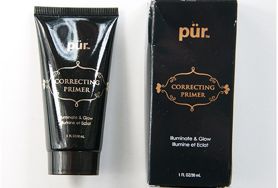 Pürminerals Correcting Primer Recension, Swatches, Bilder