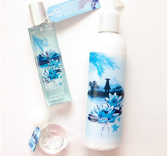The Body Shop Fijan Water Lotus