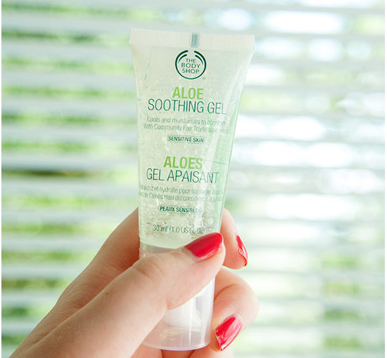 The Body Shop Aloe Soothing Gel Recension