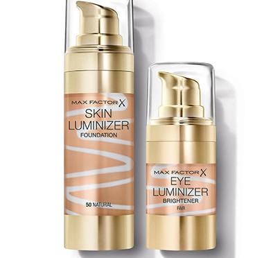 Max Factor Skin Luminizer Foundation & Eye Luminizer Brightener