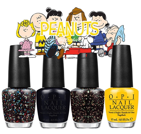 OPI Peanuts Collection