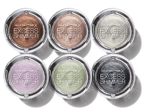 Nyhet! Max Factor Excess Shimmer Eyeshadow