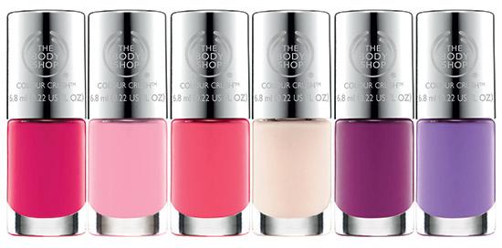 The-Body-Shop-Colour-Crush-Nails-Pinks-Purples