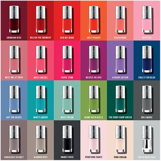 The Body Shop Colour Crush™ Nails