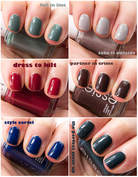 Essie Dress To Kilt Fall Collection 2014