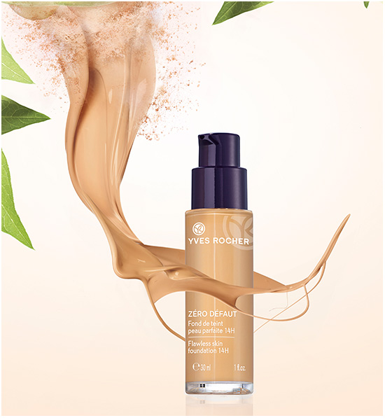 Yves Rocher lanserar Flawless Finish Foundation