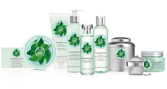The Body Shop lanserar Fuji Green Tea™