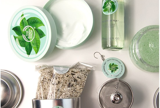 The Body Shop Fuji Green Tea Recensioner, Bilder