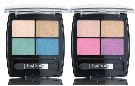 Re-launch IsaDora Eye Shadow Quartet