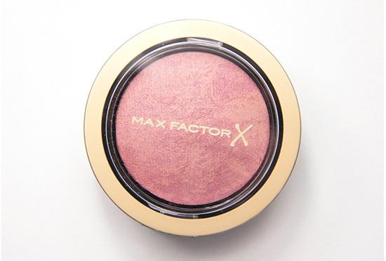 Max Factor Seductive Pink Creme Puff Blush Recension, Swatches, Bilder