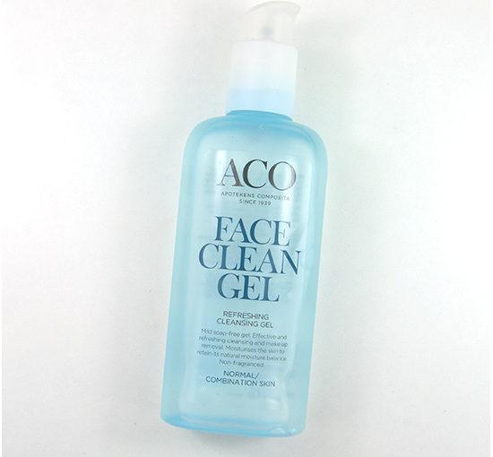 ACO Face Clean Gel Recension, Bilder, Info