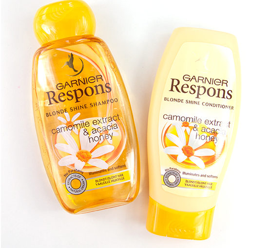 Garnier Respons Blonde Shine Recension
